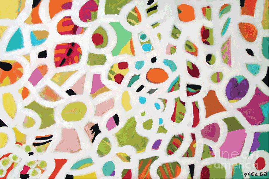 Abstract Digital Art - Road Less Traveled by Karen Fields