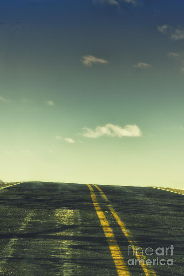 Road Photograph  - Road Fine Art Print