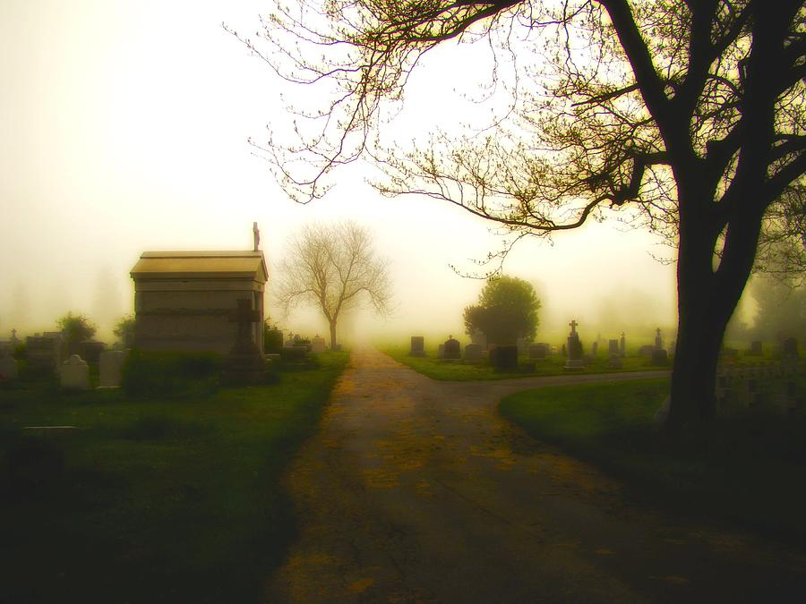 Road To The Mausoleum Photograph  - Road To The Mausoleum Fine Art Print