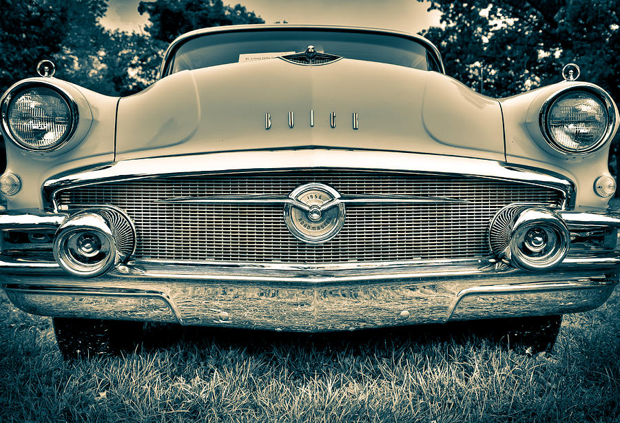 Buick Photograph - Roadmaster by Bradley  Blackburn