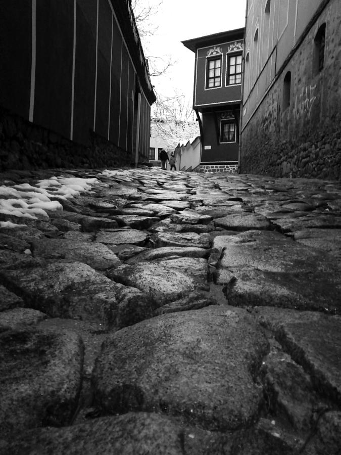 Path Photograph - Roads by Lucy D