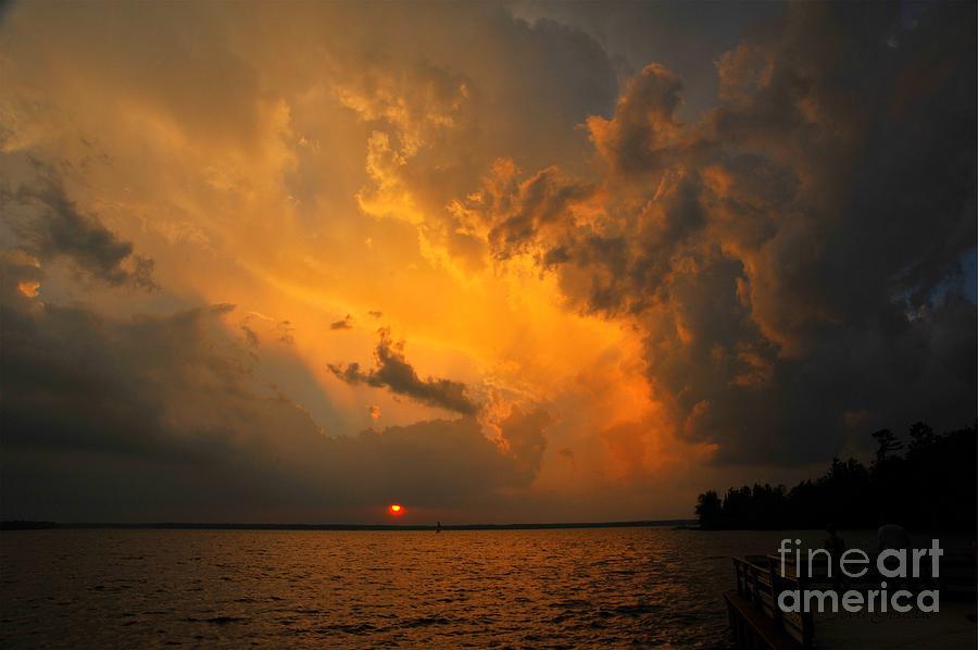 Bible Photograph - Roar Of The Heavens by Terri Gostola