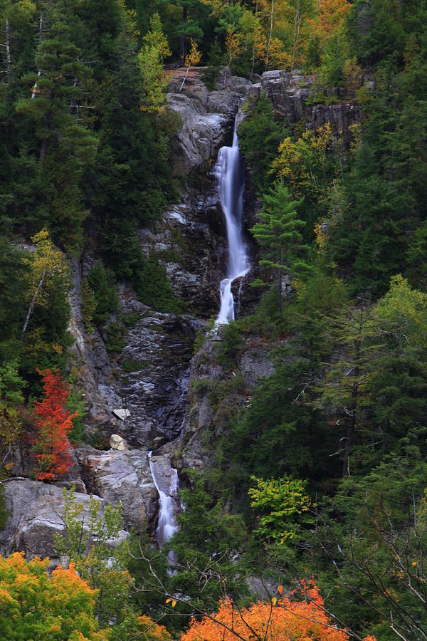 Roaring Brook Falls Adirondacks Ny Photograph by Gary Nedbal
