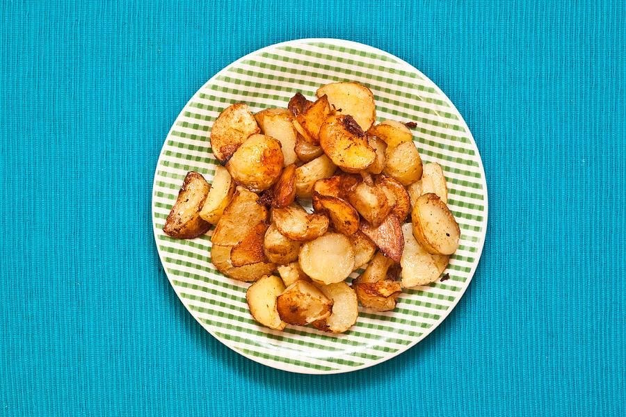 Roast Potatoes Photograph