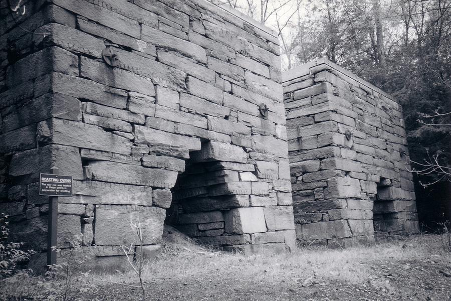 Roasting Furnaces Photograph