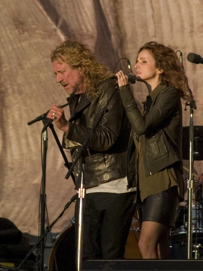 Robert Plant And Patty Griffin Photograph