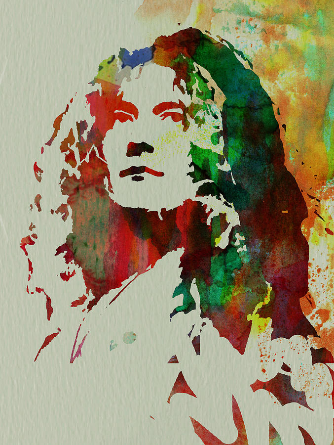 Robert Plant Painting