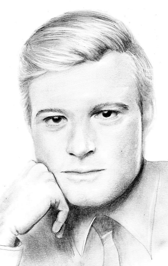 Robert Redford Drawing