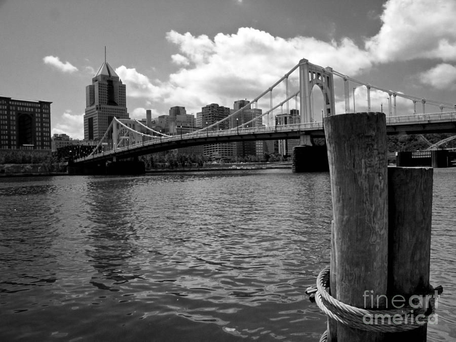 Roberto Clemente Bridge Pittsburgh Photograph  - Roberto Clemente Bridge Pittsburgh Fine Art Print