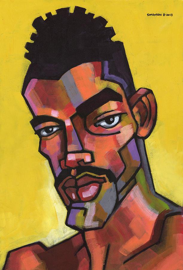 Portrait Painting - Rocco by Douglas Simonson