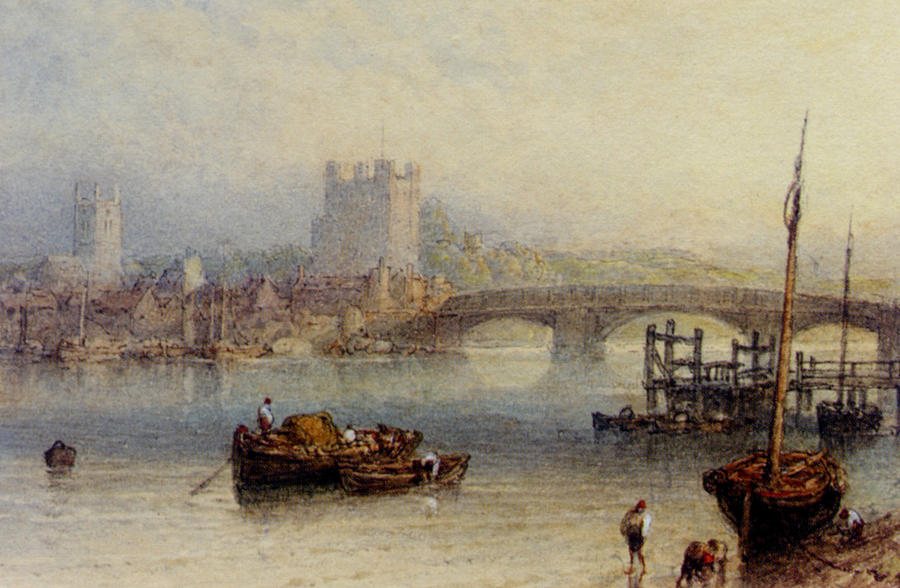 Rochester From The River Digital Art