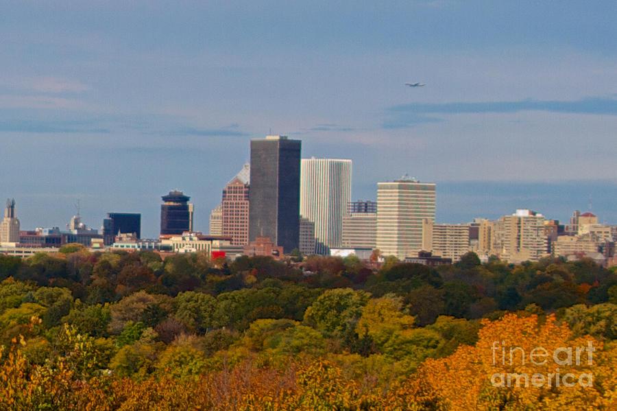 Rochester Skyline Photograph