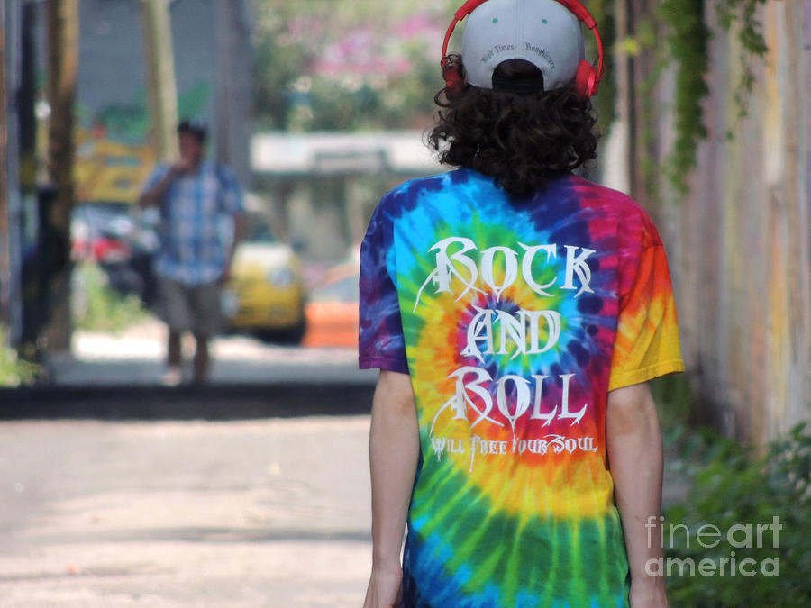 Rock And Roll Will Free Your Soul Photograph  - Rock And Roll Will Free Your Soul Fine Art Print