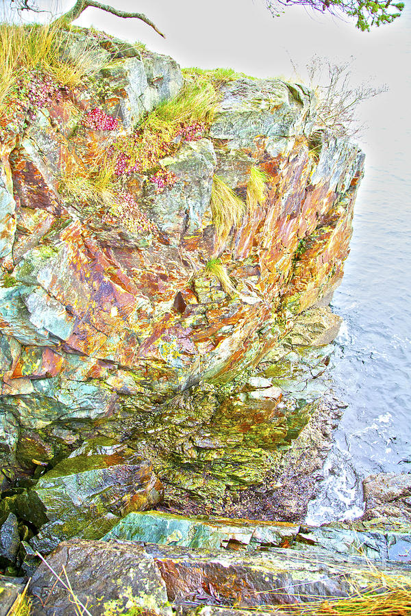 Rock Colour Photograph