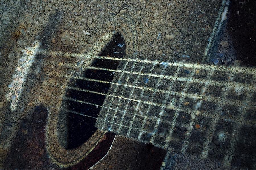 Rock Guitar Photograph