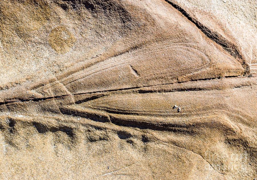 Australia Photograph - Rock Patterns by Steven Ralser