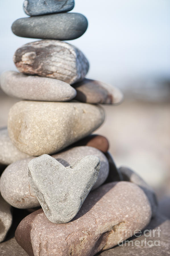 Art Photograph - Rock Solid Love by Anne Gilbert