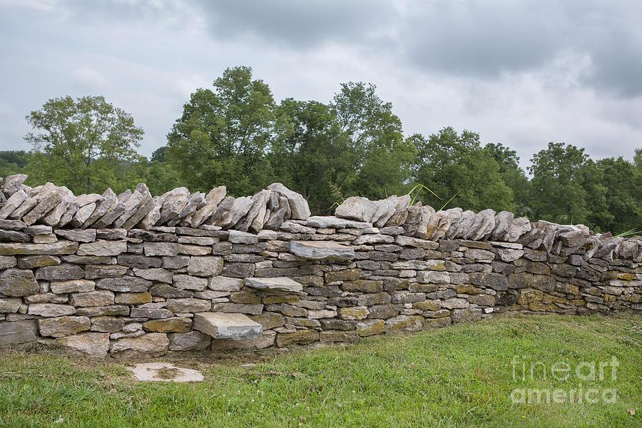 Rock Wall Steps Photograph