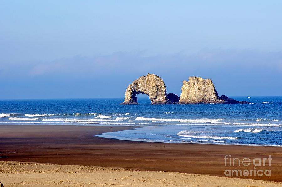 Rockaway Beach Twins Photograph