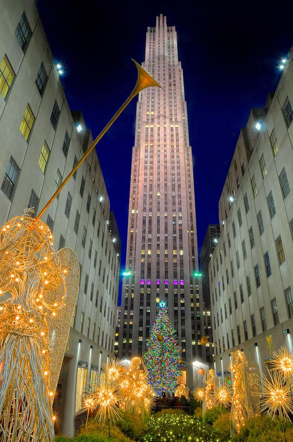 Rockefeller Center New York City Photograph By Dave Mills