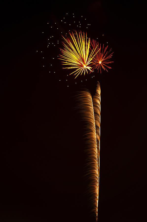 Rockets Skyward  Photograph