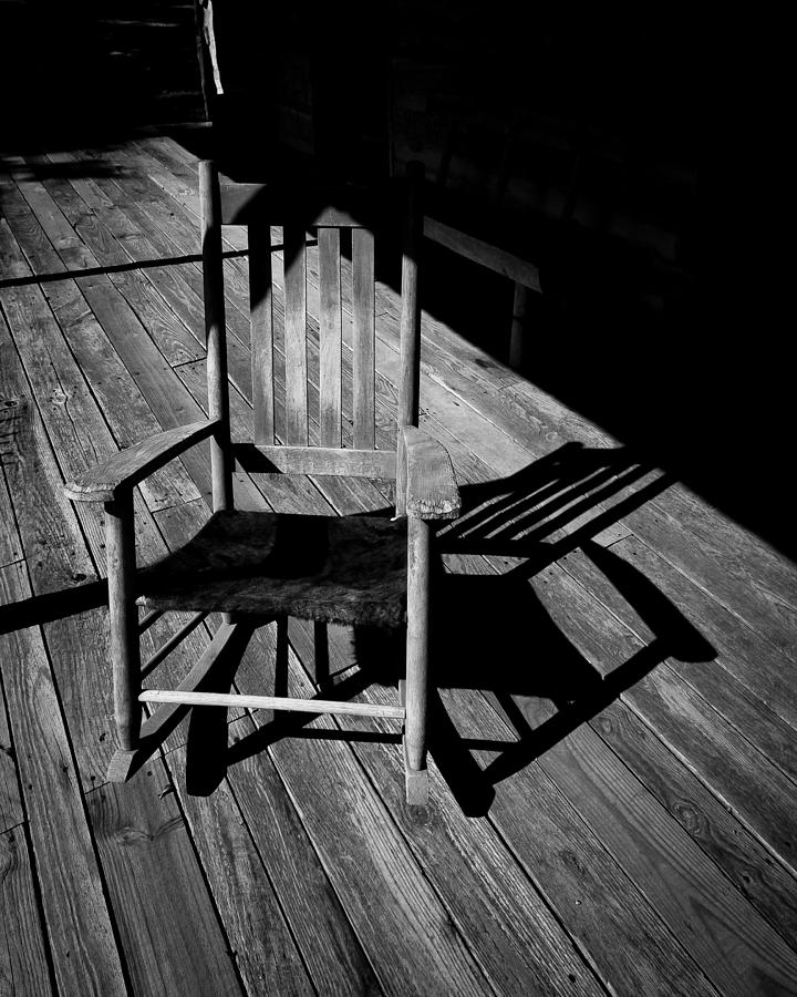 Rocking Chair Photograph  - Rocking Chair Fine Art Print