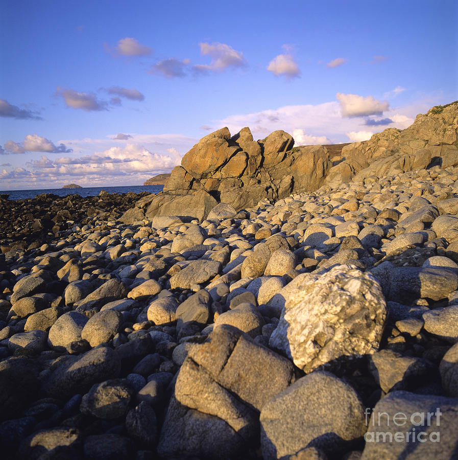 Rocky Coast. Normandy. France. Europe Photograph