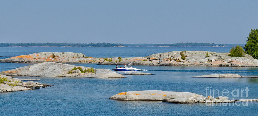 Rocky Islands On Georgian Bay Photograph  - Rocky Islands On Georgian Bay Fine Art Print
