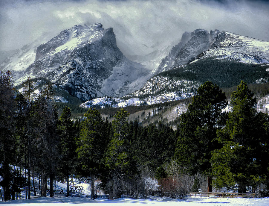 Rocky_mountain Photograph - Rocky Mountains by Jim Hill