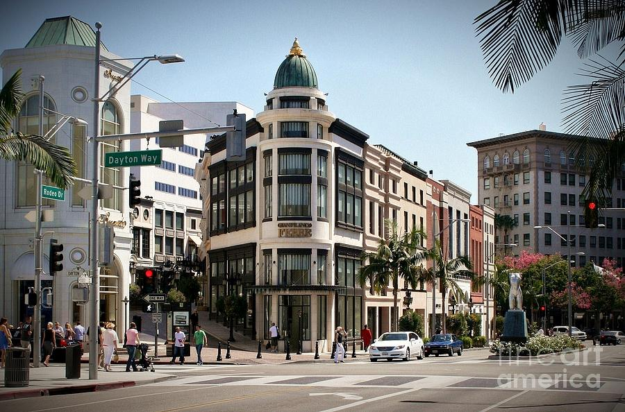 Rodeo Drive Los Angeles Photograph