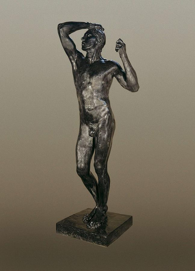 Rodin, Auguste 1840-1917. The Age Photograph