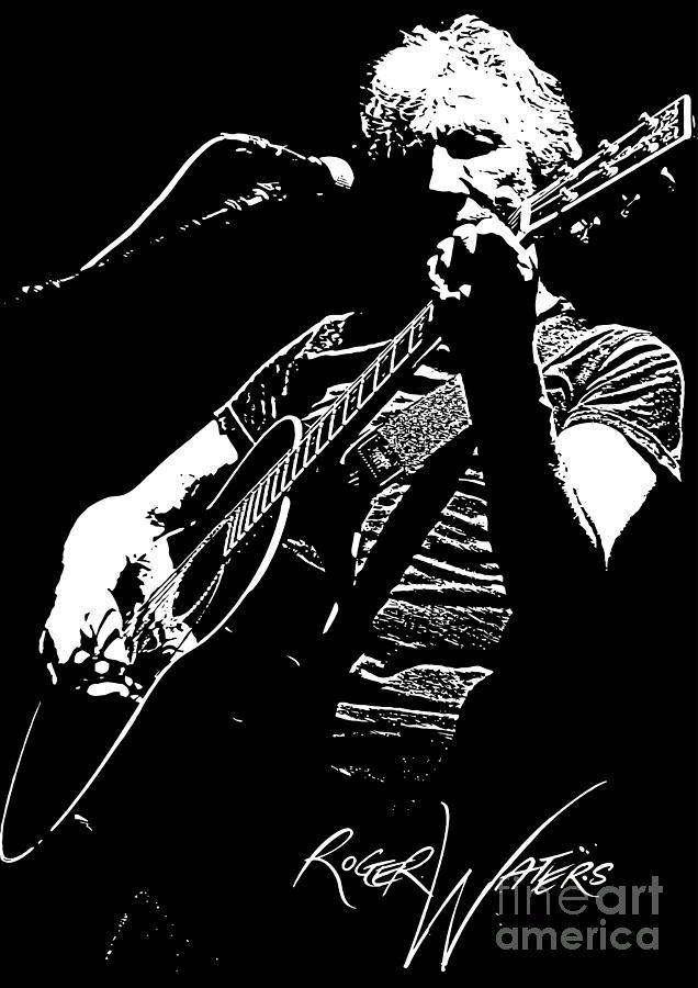 Roger Waters No.01 Digital Art