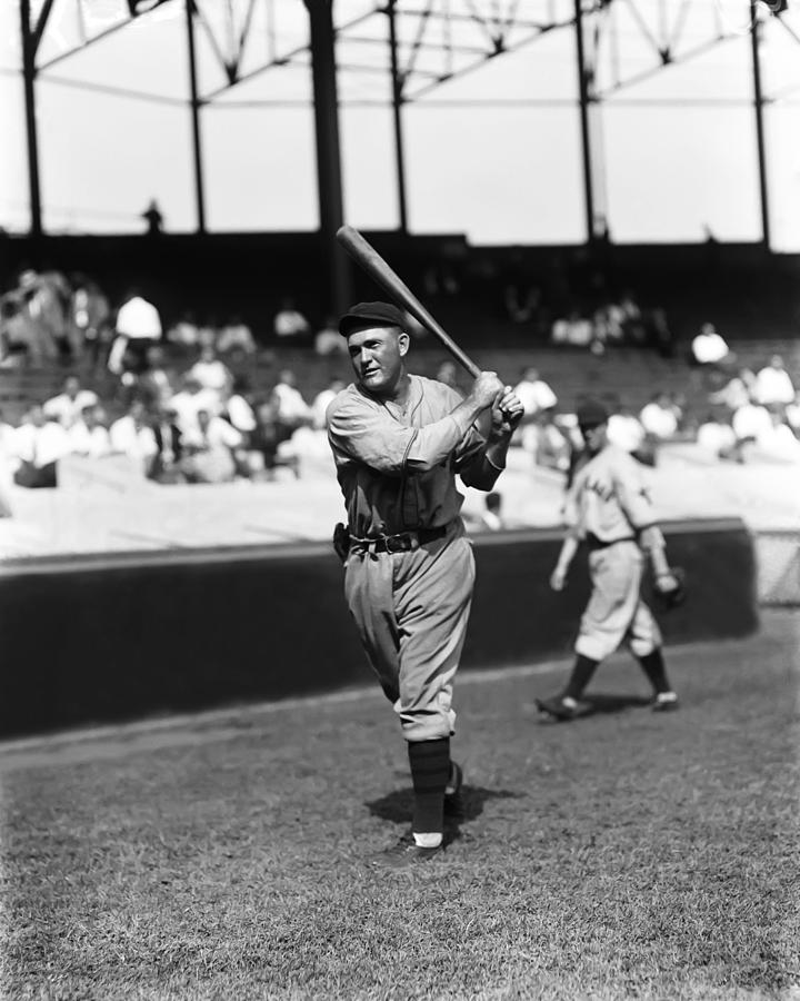 Rogers Hornsby Follow Through Swing Photograph