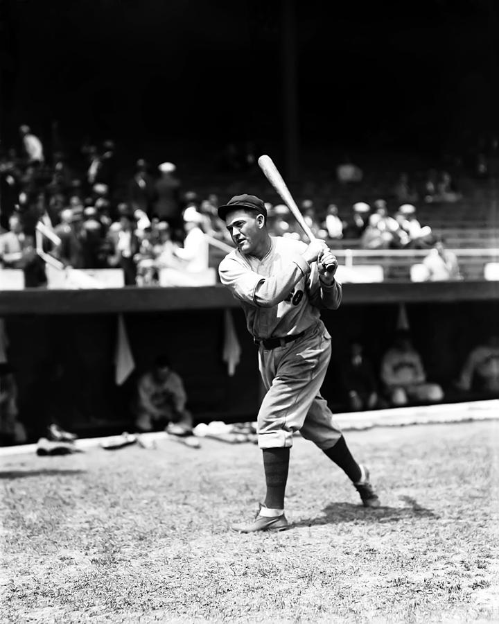 Rogers Hornsby Pre Game Swings Photograph