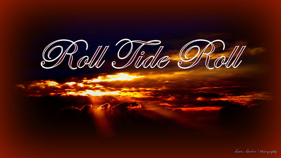 Roll Tide Roll Photograph