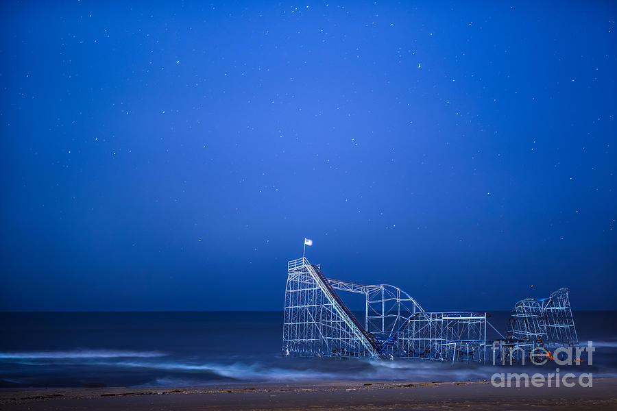 Starjet Photograph - Roller Coaster Stars by Michael Ver Sprill