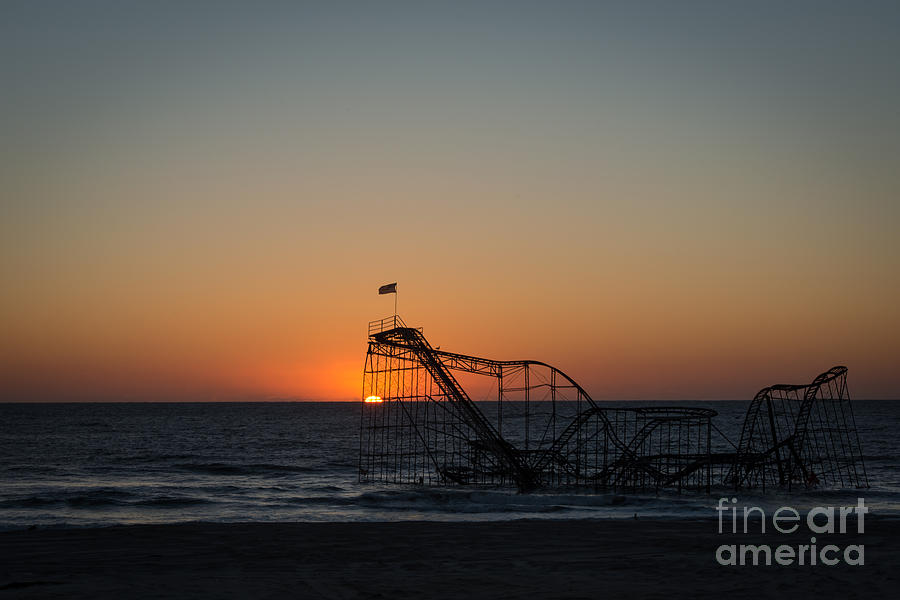 Roller Coaster Sunrise 2 Photograph