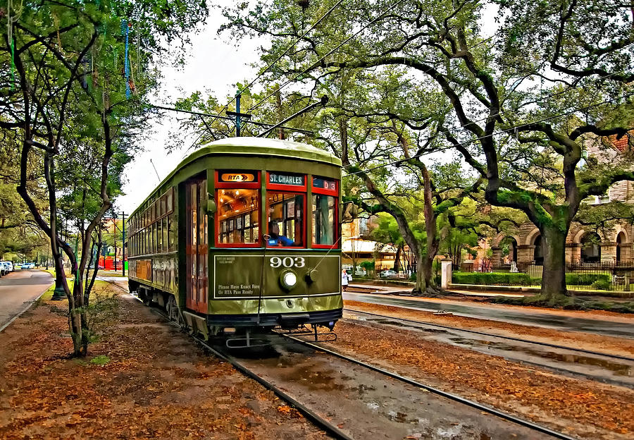 Garden District Photograph - Rollin Thru New Orleans by Steve Harrington