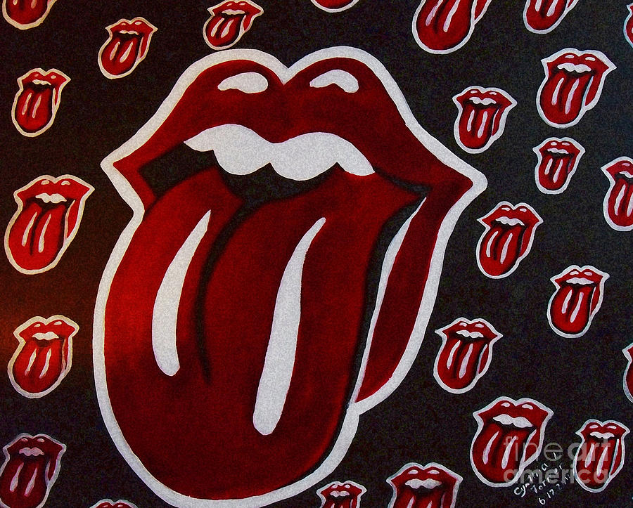 Rolling Stones  Painting