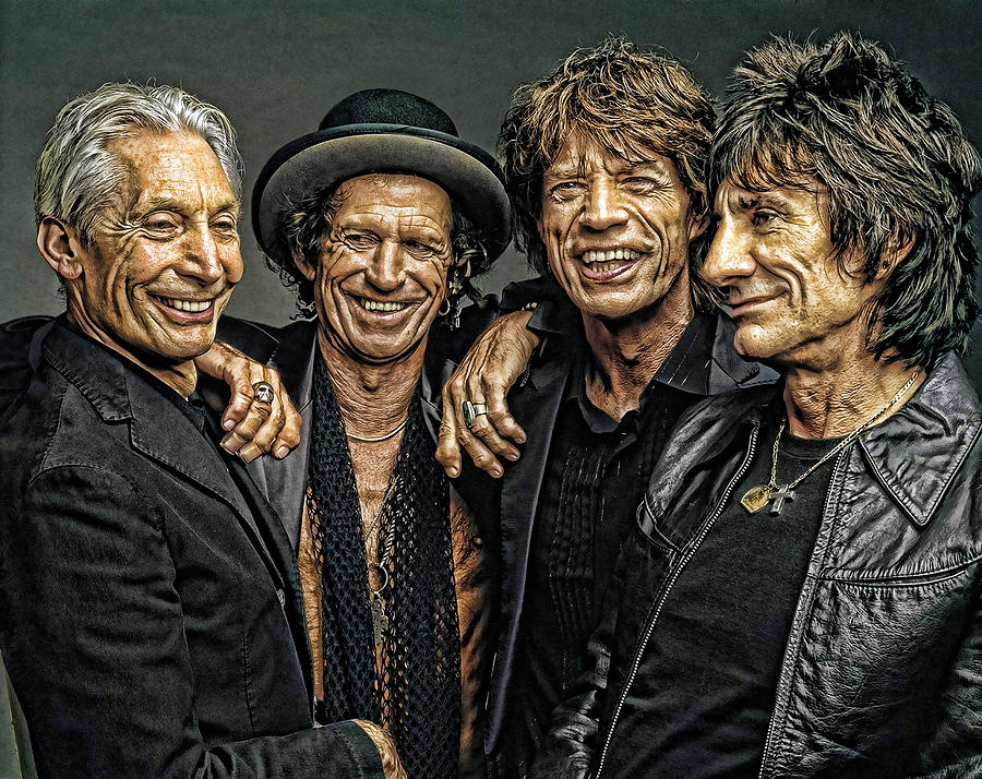 Rolling Stones Digital Art