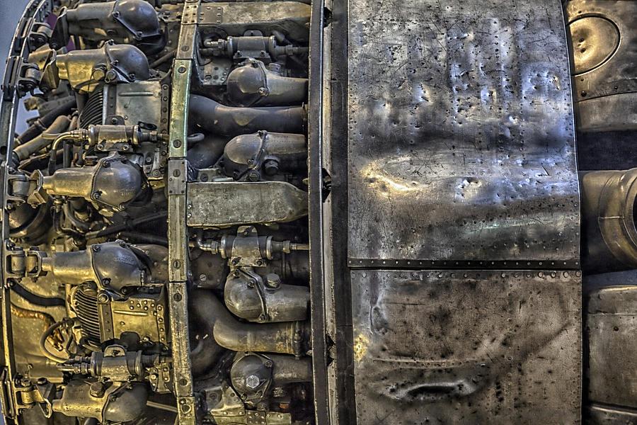 Rolls-royce Dart Turboprop Detail Photograph