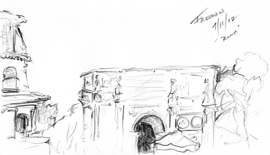 Roma Italia Drawing
