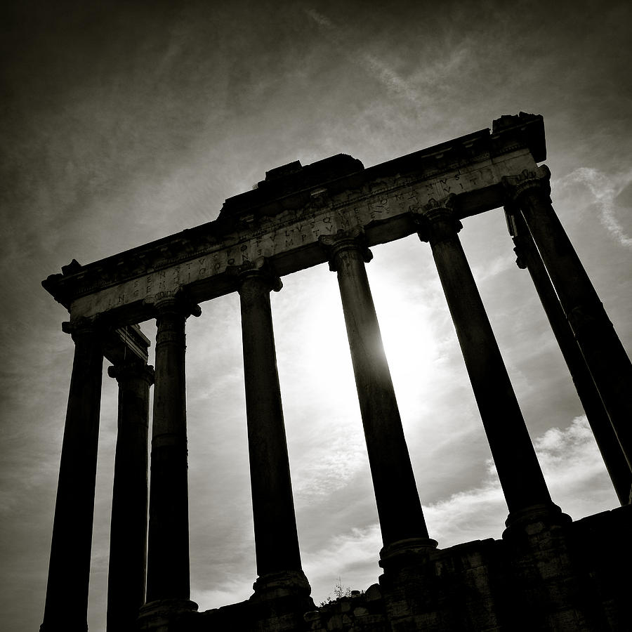 Roman Forum Photograph