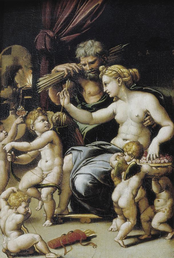 Romano, Giulio, Workshop Of. Venus Photograph