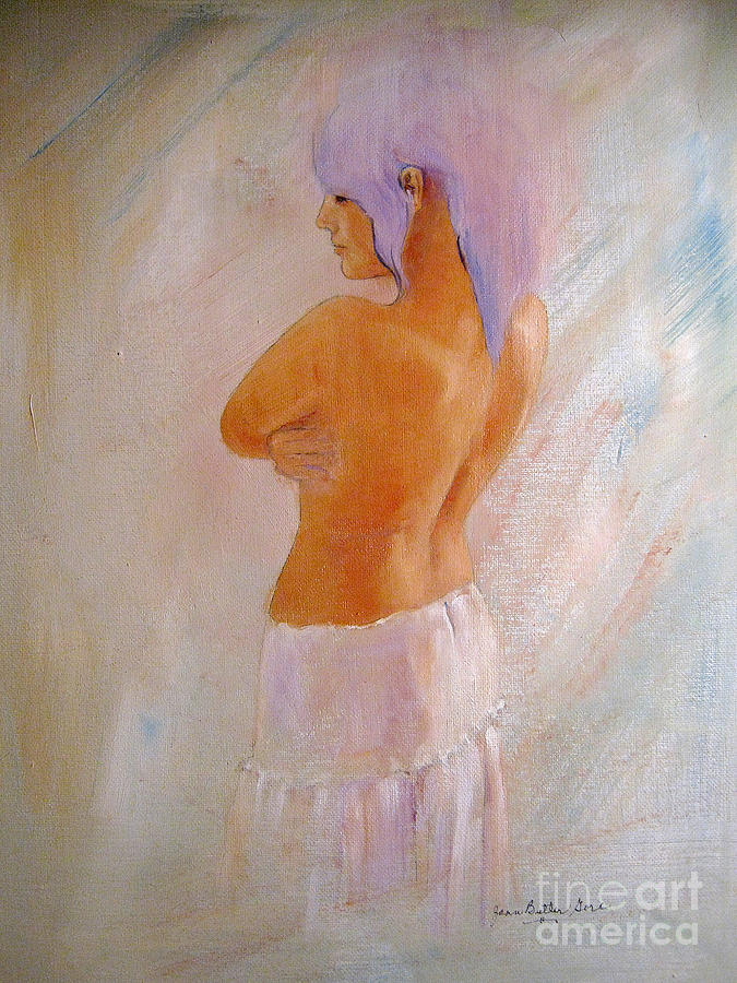 Romantic Nude Painting  - Romantic Nude Fine Art Print