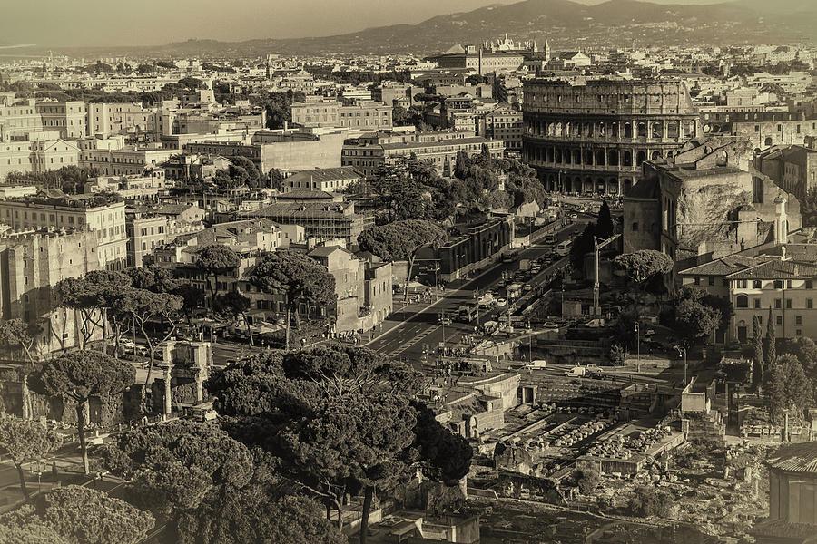 Rome Vista Photograph
