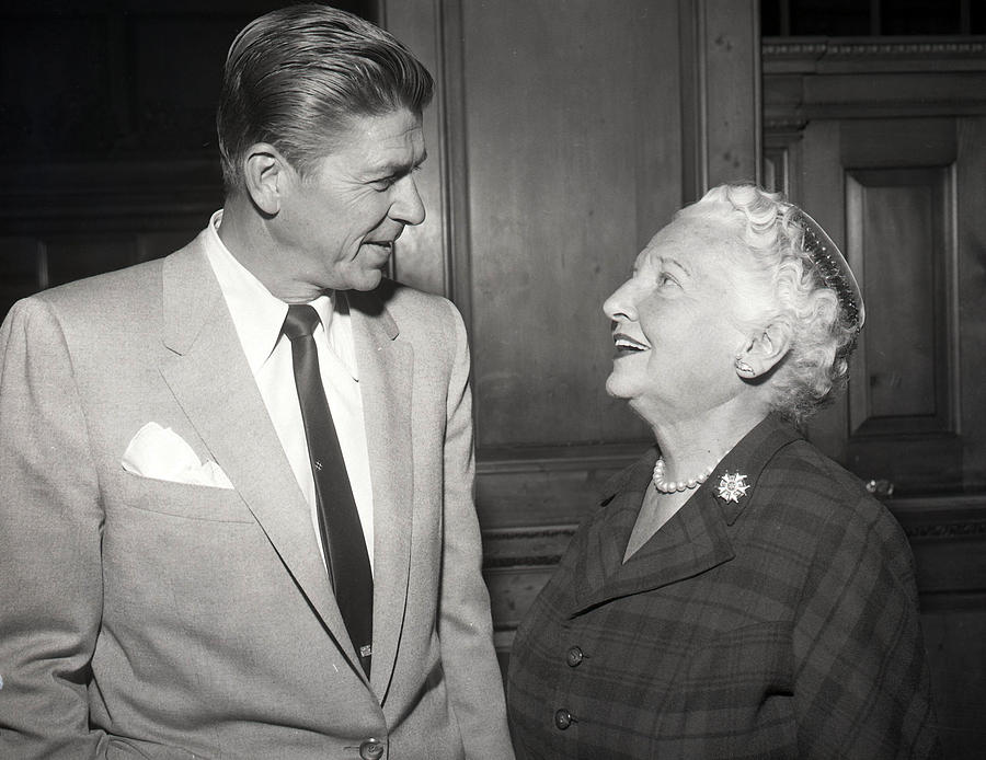 President Photograph - Ronald Reagan by Retro Images Archive