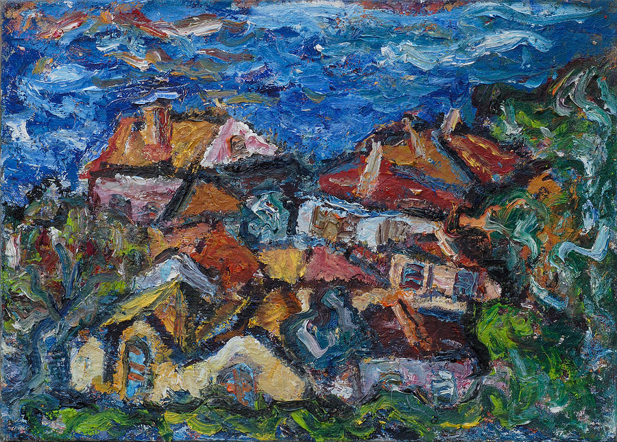 Roofs Of Herceg Novi Iv  Painting