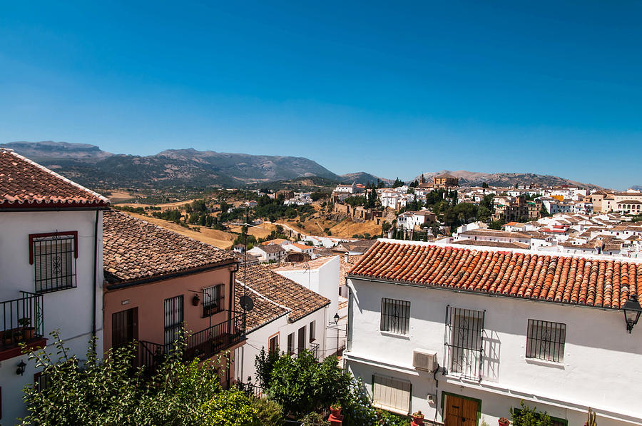 Roofs Of Ronda.spain Photograph