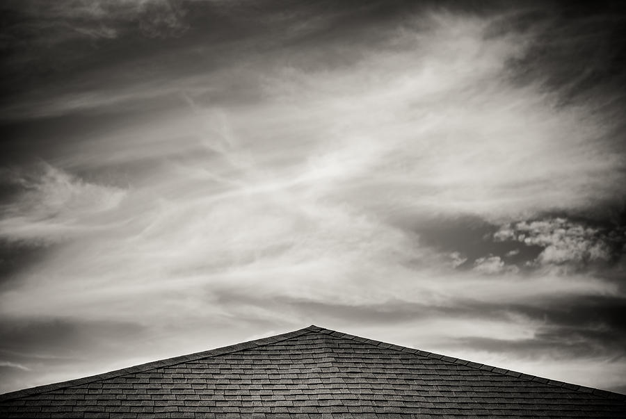 Rooftop Sky Photograph
